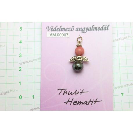 Thulit, Hematit AM00007
