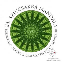 Szívcsakra mandala