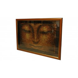 Buddha keretezett mozaik kép