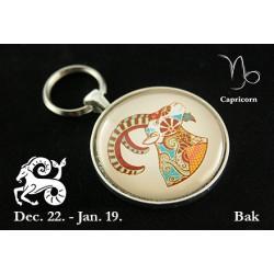 01 Horoszkópos kulcstartó Bak