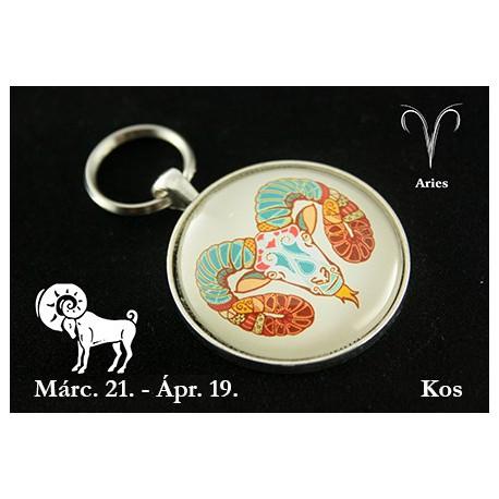 04 Horoszkópos kulcstartó Kos