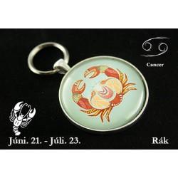 07 Horoszkópos kulcstartó Rák