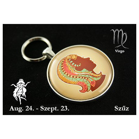 09 Horoszkópos kulcstartó Szűz