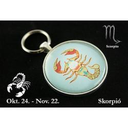 11 Horoszkópos kulcstartó Skorpió